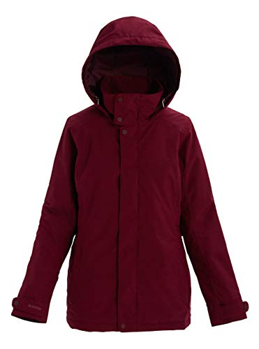 Burton Damen Jet Set Snowboard Jacke, Port Royal Heather, XL