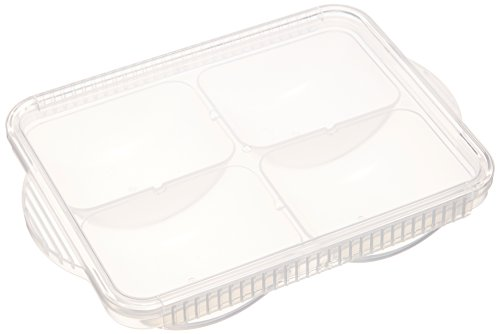 SKATER 離乳食 冷凍 小分け 保存トレー 80ml×4個取り TRMR4