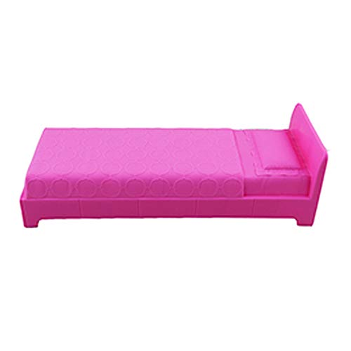 Replacement Parts for Barbie Dreamhouse Playset - FHY73 or GNH53 ~ Doll Size Pink Bed