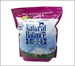 ナチュラルバランス Natural Balance ウルトラプレミアムスウィートポテト&ベニソンフォーミュラ 5ポンド 2.27kg 犬 ドライフード