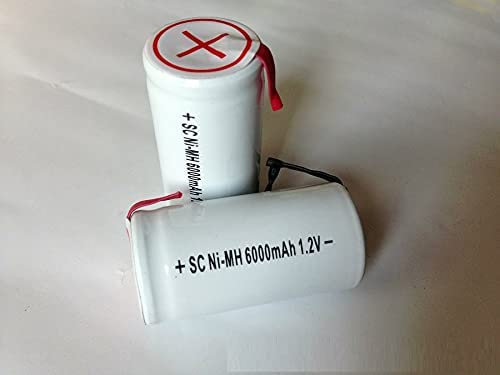 Rechargeable Batteries Sc At the price of surprise Type 1.2V E and Positive All items free shipping Lead Negative