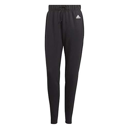 adidas Designed TO Move, Pantaloni della Tuta Donna, Nero Bianco, M