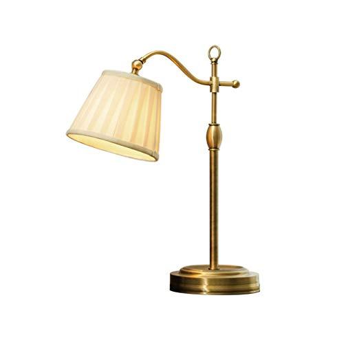 ZLMAY De Noche Contador de la lámpara Dormitorio cálido Completa de Cobre de Noche Sala de Estar lámpara de Escritorio romántico lámpara de Mesa