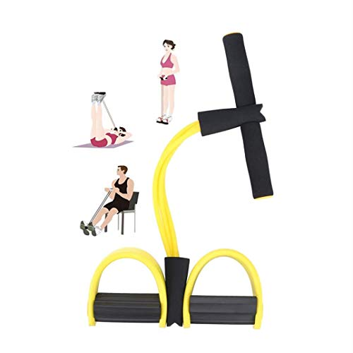 MIZOMOR Widerstandstraining Beintrainer Fitniss Bauchtrainer Band Multifunktions Spannseil Elastisches Sit-up Pull Rope Sportgeräte für Zuhause Sit-up Fitness Yoga