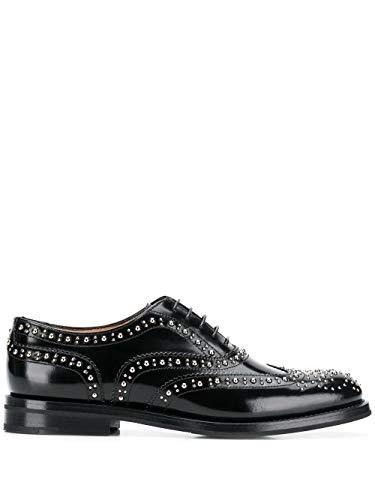 Luxury Fashion   Church's Mujer DE002FB000F0AAB Negro Zapatos De Cordones   Otoño-Invierno 19