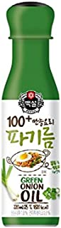 CJ Beksul 100 All Purpose Cooking Vegetable Oil 220ml (Green Onion)