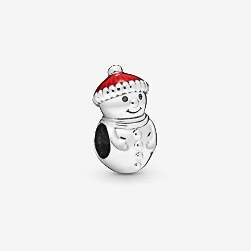 MZNSQB S925 Accesorios para manualidades de Santa Claus para hacer joyas y manualidades