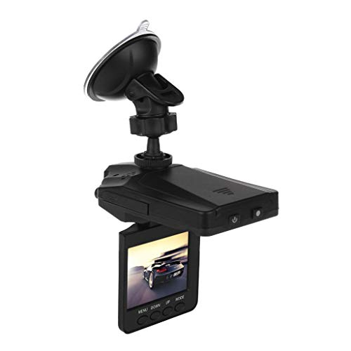"XGao Best Dash Cam View Mirror Full 1080P HD Video Suction Cup Mount Recorder Car DVR with Night Vision Support Detection Loop Recording Parking Mode 32GB 2.2""120° Wide View (Black)"