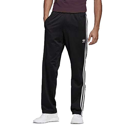 adidas Originals Men's Firebird Track Pants, Black, M (Core Black/Black, Small)
