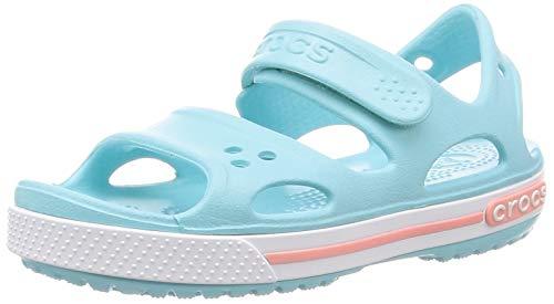 Crocs Crocband II Sandal PS K, Sandalias Unisex Niños, Azul (Ice Blue),...