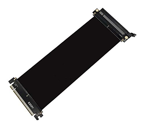 EZDIY-FAB All New PCI Express 16x Flexibles Kabel Karten Verlängerung Port Adapter High Speed Riser Card-25cm
