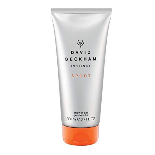 David Beckham INSTINCT Sport Hair und Body Wash – Erfrischendes Duschgel für Haut & Haare mit männlich-belebendem Duft – 1er Pack (1 x 200 ml)