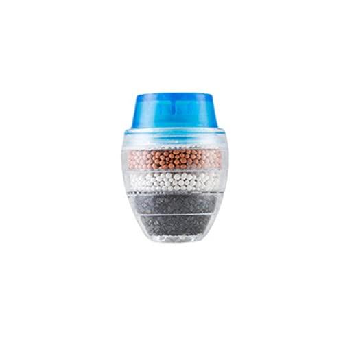 BestSiller 3 filtros de montaje de grifo, grifo de agua de carbón activado, cartucho de filtro purificador limpio elimina el cloro para el hogar, la cocina y el baño