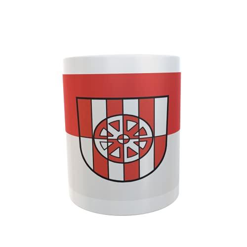 U24 Tasse Kaffeebecher Mug Cup Flagge Assamstadt