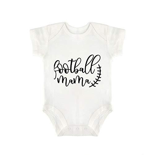 Promini Lindo Bebé Onesie Fútbol Mamá Bebé Mono Bebé Una Pieza Mameluco El Mejor Regalo Para Bebé