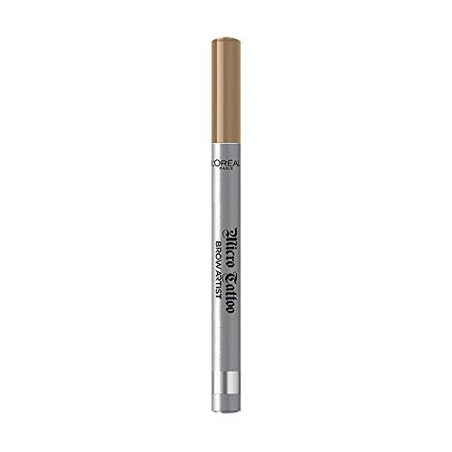 L\'Oréal Paris Brow Artist Micro Tatouage 101 Blond, Augenbrauenstift mit Dreizack-Spitze für einen langanhaltenden Microblading-Effekt