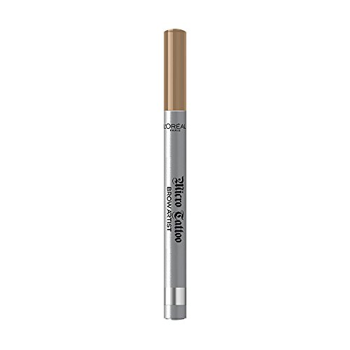 L'Oréal Paris Brow Artist Micro Tatouage 101 Blond, Augenbrauenstift mit Dreizack-Spitze für einen langanhaltenden Microblading-Effekt