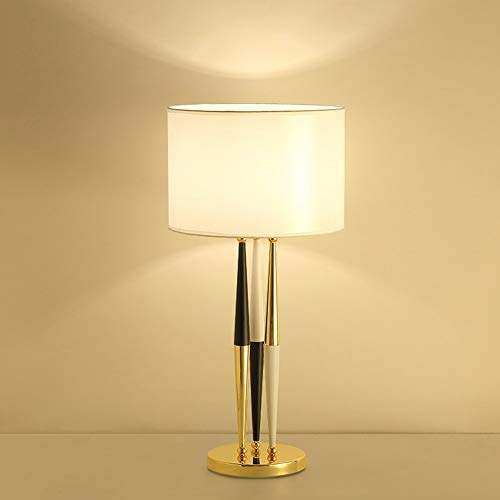 VIWIV Lampada da scrivania semplice in ferro da stiro, lampada da tavolo a LED decorativa calda luce soggiorno camera da letto tana creativa moderna europea arte moda 35 * 70 cm