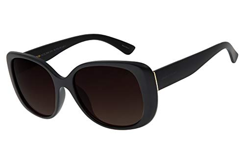 Óculos de Sol Feminino Chilli Beans Quadrado Degradê Marrom, OCCL2855 5701