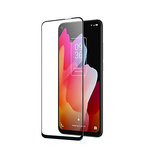 TCL Tempered Glass Screen Protector for TCL 10L Unlocked Smartphone, Anti Scratch, Fit with Most Cases