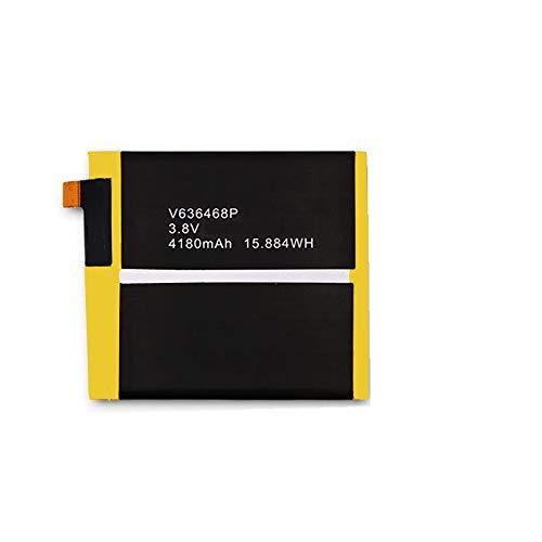 WXKJSHOP Batería de repuesto compatible con Blackview BV8000 Pro V636468P (3,8 V, 4180 mAh)
