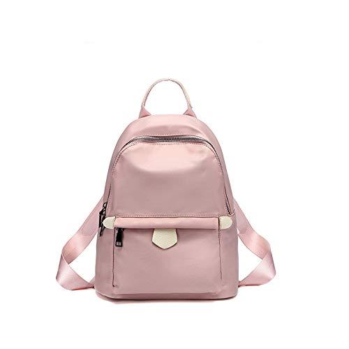CMZ Backpack Oxford Backpack Solid Color Female Autumn Fashion Large-Capacity Backpack Student Bag Travel Bag wear-Resistant Tide