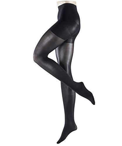 ESPRIT Damen Strumpfhosen Shaping 40 - Semi-Blickdicht, Matt, 1 Stück, Schwarz (Black 3000), Größe: L