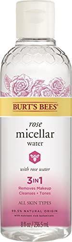 Rose Micellar Toning Water by Burts Bees for Women - 8 oz Toner