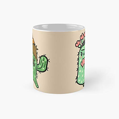 Prickly Pair Classic Mug Birth-day Holi-day Gift Drink Home Kitchen