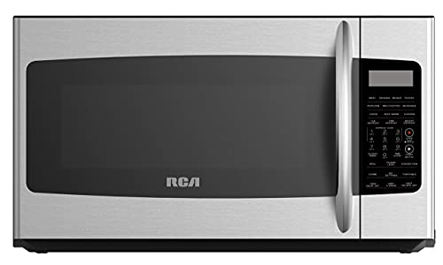 RCA RMW1749-SS, Microwave Oven with Sensor, Convection and Grill Function, 1.7 Cubic Feet-Stainless Steel, cu ft (Renewed)