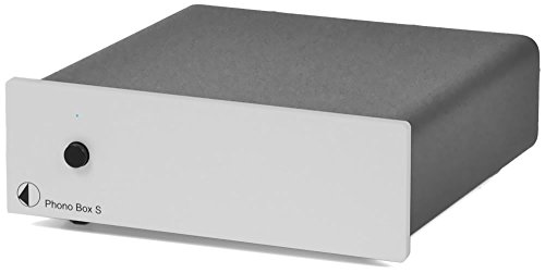 Best Buy! Pro-Ject Audio - Phono Box S - MM/MC phono preamplifier - Silver