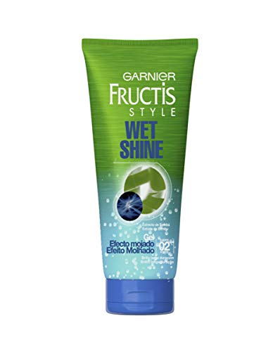 Garnier Fructis Style Gel Wet Shine Efecto Mojado - Pack de 6 x 250 ml