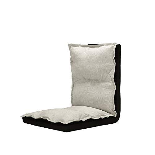 AiHerb.LO JL HX 5 Vitesses Réglable Lavable Tissu Simple Tatami Dossier Chaise Chaise Balcon Balcon Inclinable Pliant Paresseux Canapé 3 Couleurs en Option A+ (Couleur : C)