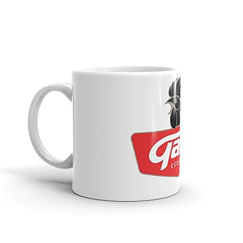 Gallo Cerveza - Best Beer In Guatemala Central America. 11 Oz Ceramic Coffee Mug Also Makes A Great Tea Cup With Its Large, Easy to Grip C-handle