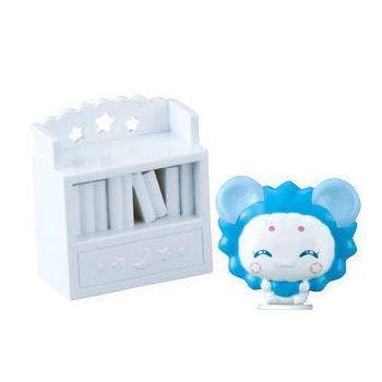 Star Twinkle Precure town /6. Fuwa Leo Ver. & Bookshelf / miniature toy