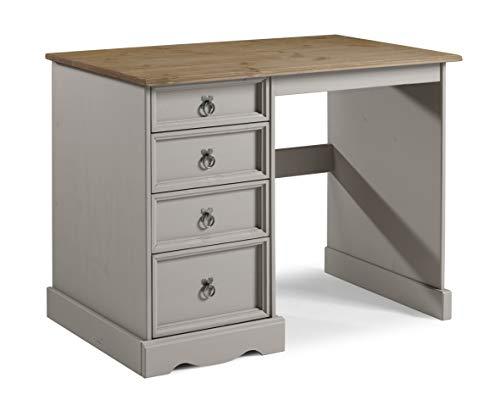 Mercers Furniture Trade Corona Grey Wax Dressing Table