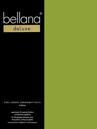 Bellana® Deluxe Spannbetttuch für Wasserbetten und Boxspringbetten, 90-120 x 200-220 cm, Bambus