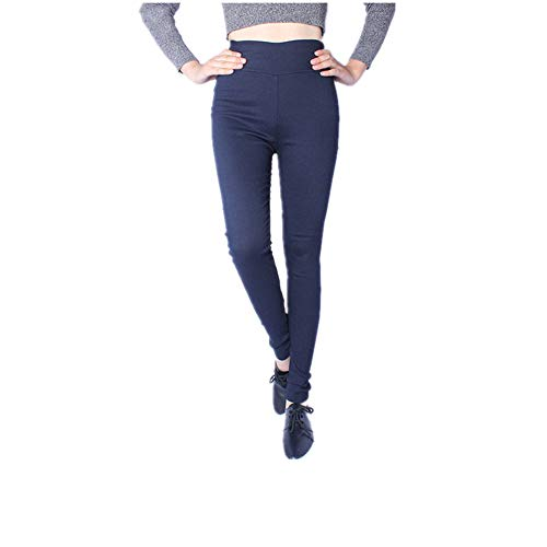N\P Vita Matita Pantaloni Donna Plus Size Tessuto Legging Pantaloni Marina Militare XL