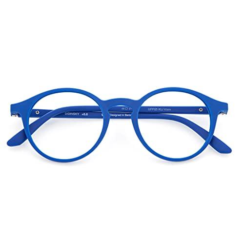 Gafas de Lectura o Presbicia Graduadas Anti bluelight Anti Luz Azul para Hombre y Mujer. Tacto Goma, Patillas Flexibles y Cristales Anti-reflejantes. 8 colores y 6 graduaciones – UFFIZI