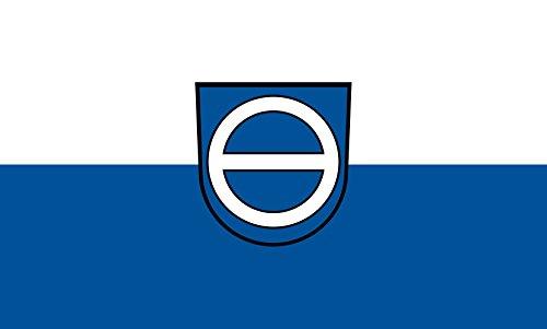 Unbekannt magFlags Tisch-Fahne/Tisch-Flagge: Zaisenhausen 15x25cm inkl. Tisch-Ständer