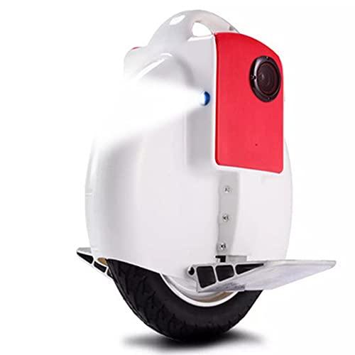 Newut Uniciclo eléctrico con Bluetooth Audio y Linterna Smart Balance Coche para...