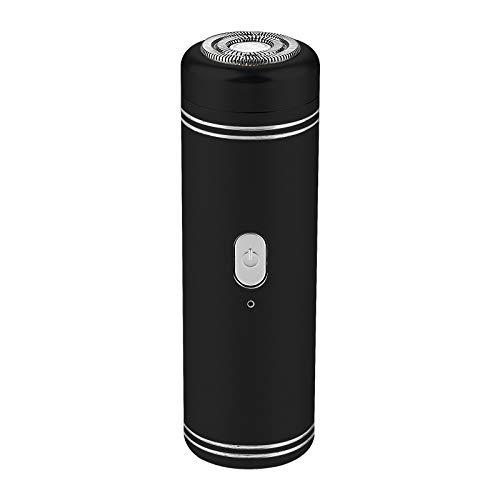 Mini Elektrorasierer Mini Männer Rasierer für Reisen Herren Reiserasierer IPX5 Wasserdichte USB Wiederaufladbare Bartschneider