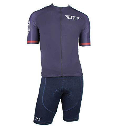 Jeanstrack Maillot De Ciclismo Capo Camiseta, Jeans, M Unisex Adulto