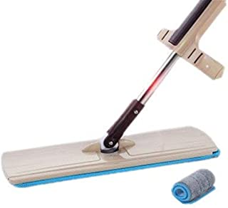 SIZOO - Mops - Free Hand Washing Flat Mop Dry And Wet Dual Use Can Be Rotated Spray Cloth Home Large Replace Cloth Self-sq...
