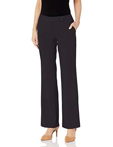 Calvin Klein Women's Classic Fit Straight Leg Suit Pant, Navy, 12