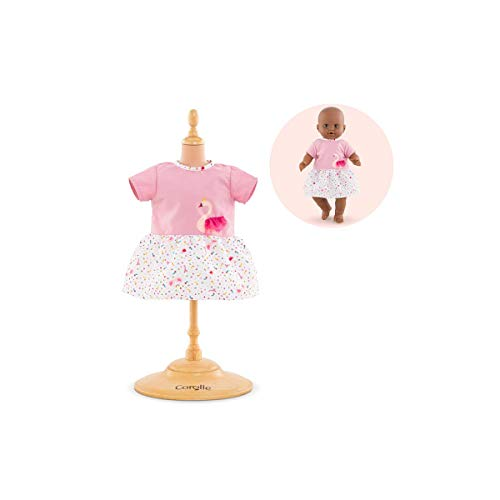 Corolle- Robe Cygnes de Tendresse pour Poupon 36 cm Vêtement, 140590, Multicolore