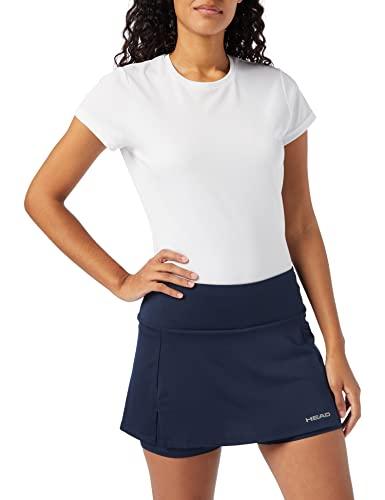 HEAD Club Basic Skirts, Donna, Blu, M