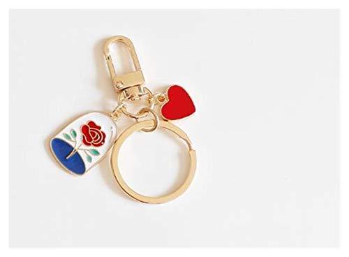 Schlüsselbund Tier Keychain Schmuckzubehör Schlüsselketten Anhänger-Geschenke Gefälligkeiten (Color : CC)
