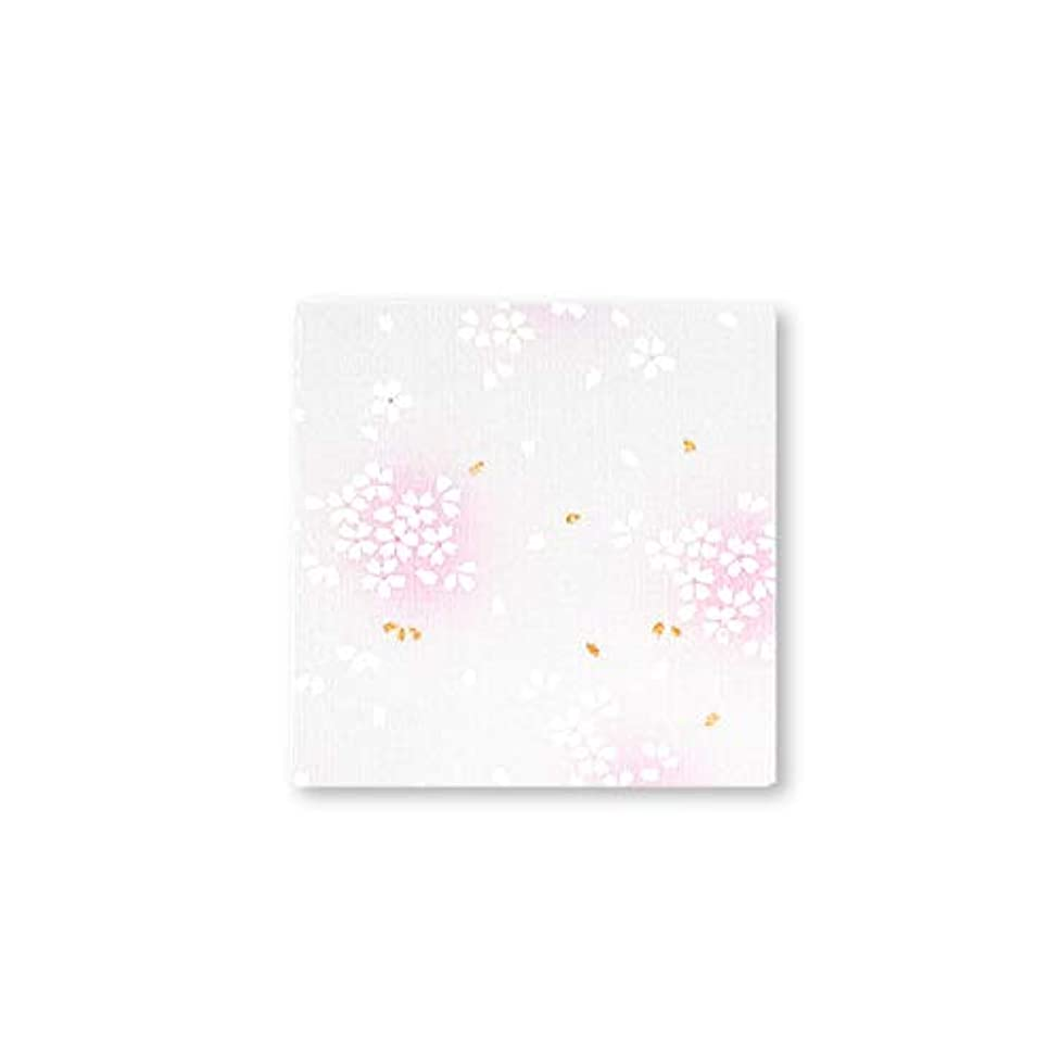 安心させる効果的にできない御朱印堂 御朱印帳 Vol.1 花柄シリーズ ミニサイズ さくら サクラ 桜 白 SD02S005WH