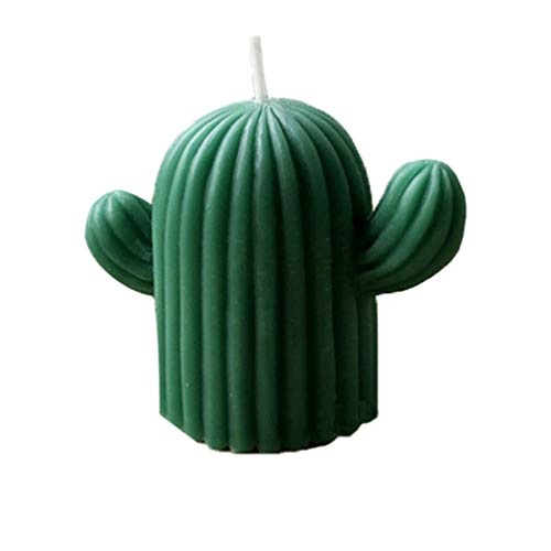 Heallily Silikon-Form für Kaktus, Kaktus, für Kerzen, Seife, Fondant, DIY-Werkzeug für Geschäft, Geschäft, Zuhause, Größe L (zufällige Farbe) 9X7.5cm siehe abbildung